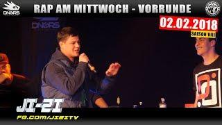 RAP AM MITTWOCH HEIDELBERG: 02.02.18 Vorrunde feat. JI-ZI, TRIPLEBEAT uvm. (2/4)