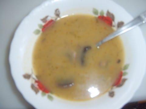 Суп картофельное пюре