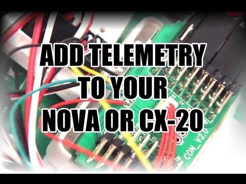 Adding telemetry: Quanum NOVA CX-20