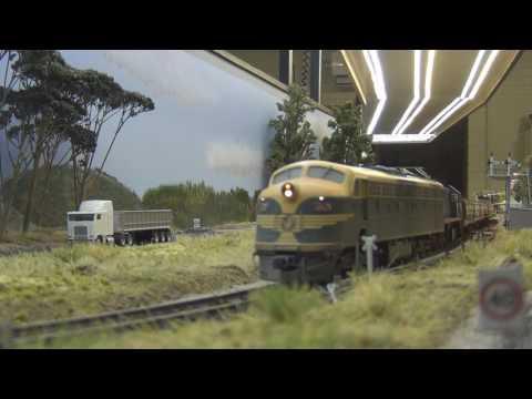 Beaufort Station - HO Scale Model Railway