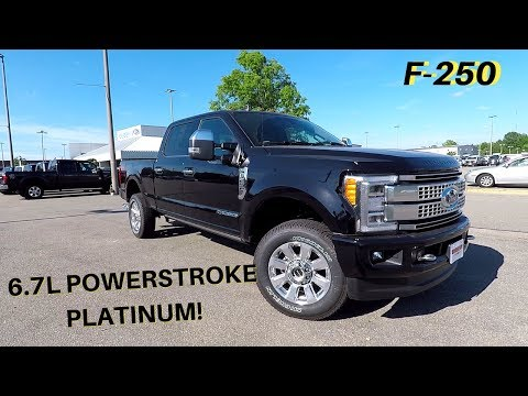 Overview Of The 2019 Ford F-250 Powerstroke 6.7L Turbo Diesel!