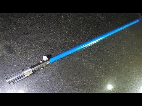Star Wars: How to Make the Skywalker lightsaber blade - The Last Jedi for $5