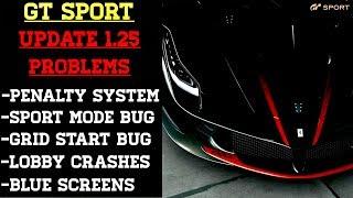 GT Sport - Update 1.25 is Broken