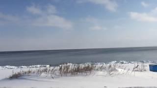 Восточный берег Сахалина - Охотское Море, Январь 2017