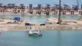 Brückenbau Krim-Russland 3.Teil, Juni 2016