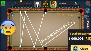 1000 BILLIONS - Fernando - Level 497 - (Indirect Highlights) - Miniclip 8 ball pool