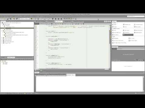 Java EE 7 / HTML 5 / Websocket Development With NetBeans