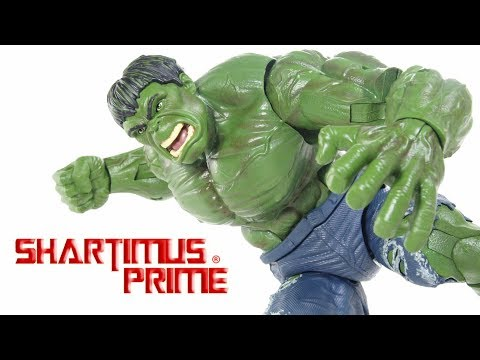 Marvel Legends Series Hulk 12 Inch 1:6 Scale Comic Hasbro Action Figure Toy Review