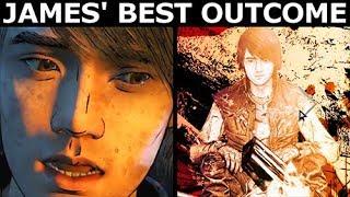 James' Best Outcome - The Walking Dead Final Season 4 Episode 2 (Telltale Series)