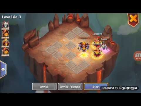 Castle Clash Lava 3 Setup