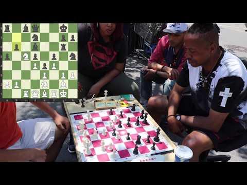 Worst Chess Opening vs. Chess Hustler pt. 2 - NYC Chess Hustling