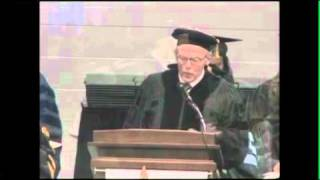 2011 Boardwalk Empire Author Nelson Johnson Delivers Commencement Address at Stockton College