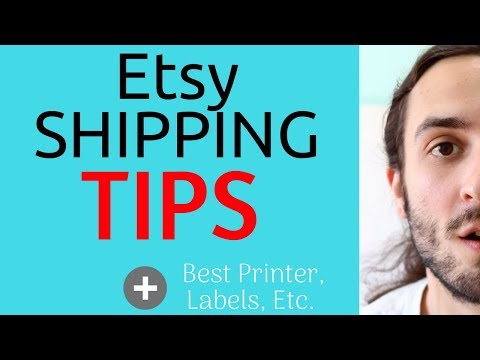 Etsy Shipping Tips (my etsy shipping process, etsy shipping labels, and etsy advice)