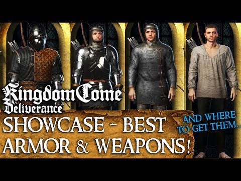 Kingdom Come: Deliverance - Best Armor & Weapons
