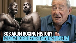 Bob Arum reveals Wilder v Fury trilogy purse splits, AJ v Ruiz, Eddie Hearn, Mayweather v Pacquiao