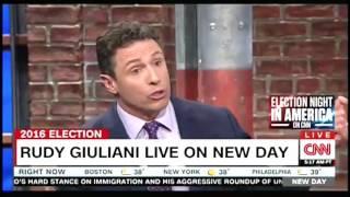 Epic Rudy Giuliani-Chris Cuomo battle on CNN