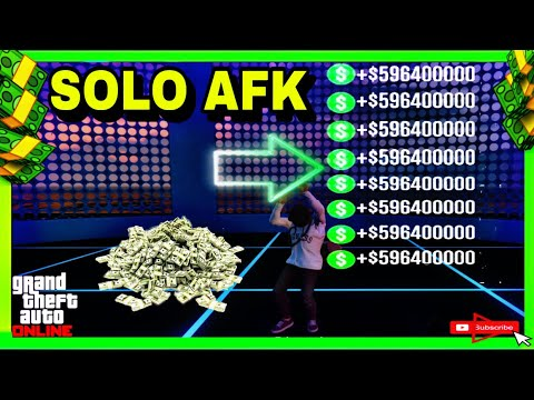 GTA 5 ONLINE - SOLO AFK SURVIVAL JOB METHOD AND STILL WORKING AFTER PATCH 1.50( CRAZY AMOUNT OF MONE
