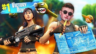 Getting A WIN With My #1 FAN!! (Infinite Lists Fortnite)
