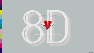 Kanye West - Welcome To Heartbreak | 8D Immersive Audio 🎧