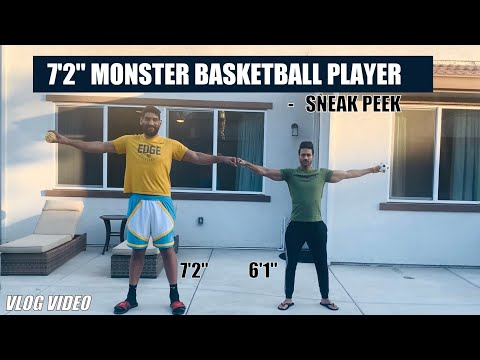 7'2'' Monster - Basketball Player | Guru Mann [VLOG]