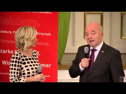 Handwerkspreis 2015 - Meisterbriefverleihung 2015 Wirtschaftskammer Salzburg