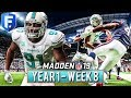 Madden 19 Dolphins Franchise Year 1 - Week 8 @ Texans | Ep.9
