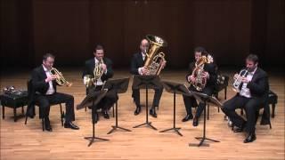 Wien Berlin Brass Quintett - Victor Ewald Symphony for Brass Choir No.1_1st movement