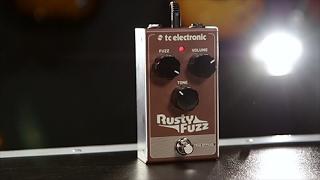 Tore Mogensen Demos The  TC Electronic Rusty Fuzz