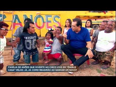 Geraldo Luís prepara pegadinha e surpreende família de anões circenses
