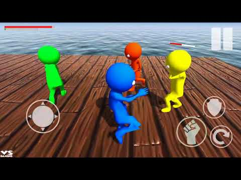 Beast Wrestling of Gangsters Stickman Fighting - Another Stickman Fighting Game - Android GamePlay