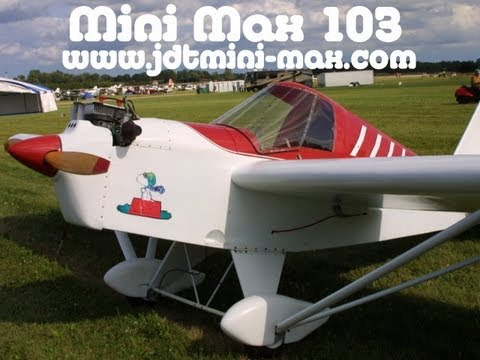 JDT Mini Max, 12 Ultralight Aircraft that give you the biggest bang for your buck!