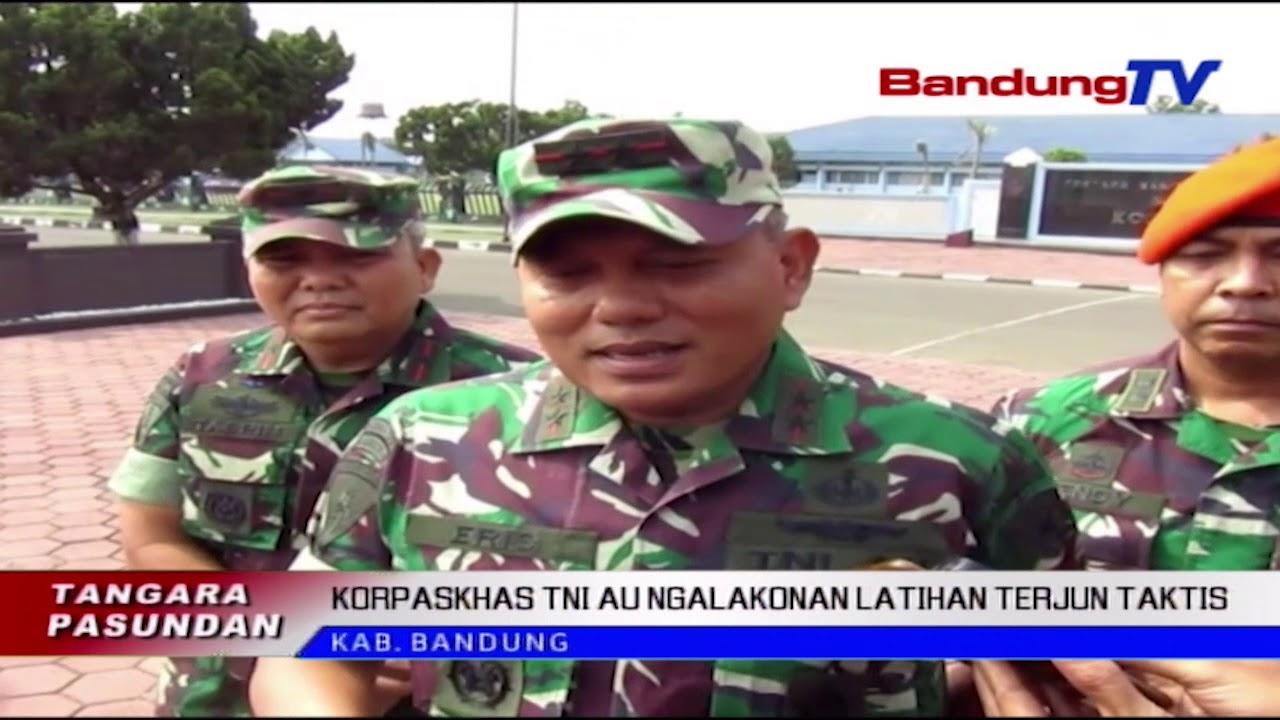 Download KORPASKHAS TNI AU Ngalakonan Latihan Terjun Taktis | TP | BANDUNGTV