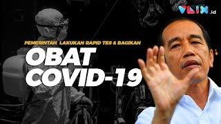 CORONA UPDATE! Jokowi: Kita Bagikan Obat Covid-19 dan Segera Rapid Test