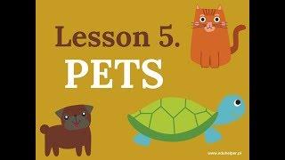 Lesson5  - Pets / Zwierzęta domowe