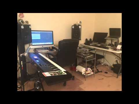 A LITTLE LOOK AT MY MUSIC STUDIO