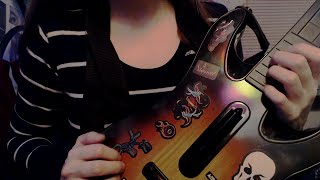 [ASMR] Soft-Spoken Playing with Guitar Hero/Rockband Controllers + Shoutouts