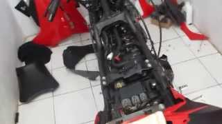 Cara Bersihkan Bagian Dalam Kawasaki Ninja 250 R Full HD Part.2