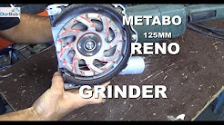 Tool Review - Metabo 125mm Renovation Grinder