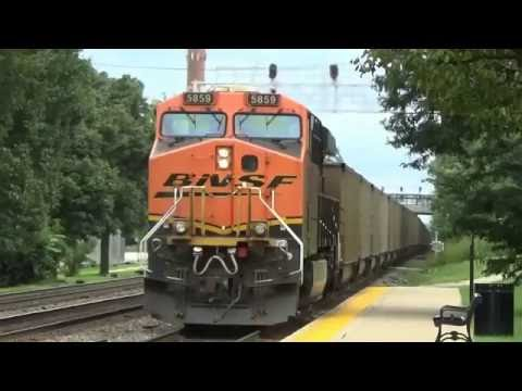 Power Front & Back On This BNSF Coal Train