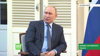 Interrogé sur les manifestations à Moscou, Vladimir Poutine évoque les Gilets jaunes en France