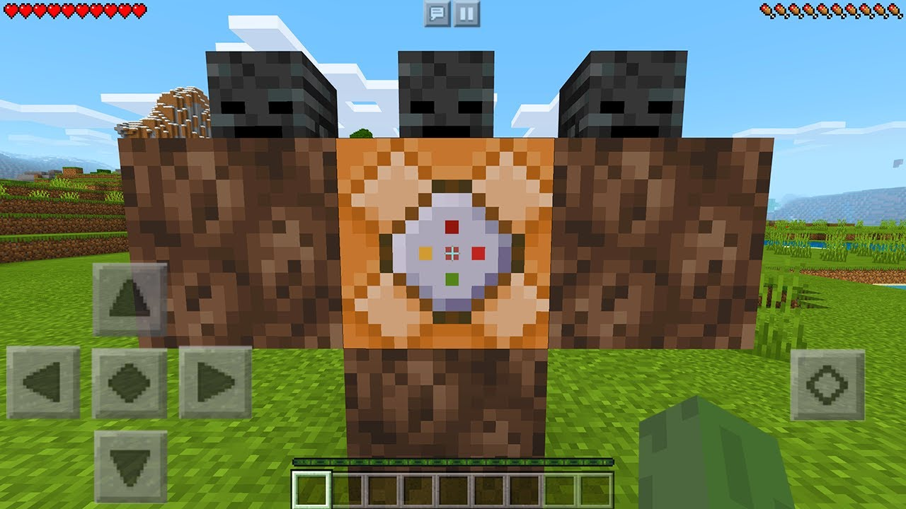 How To Spawn the Wither Storm in Minecraft Pocket Edition