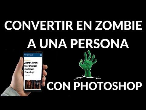 Cómo Convertir a una Persona en Zombie con Photoshop