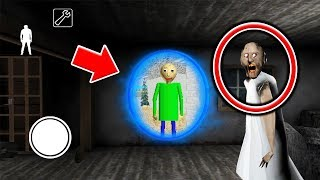 Funny Moments in Granny vs Baldi Horror Game! (TRY NOT TO LAUGH)