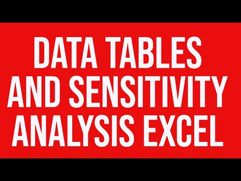 kudlers data table analysis In excel, a data table is a range of cells that shows how changing one or two   observe the corresponding variation in results is a common task in data analysis.