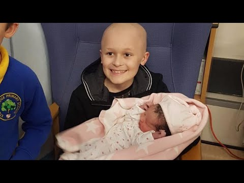 9-Year-Old With Cancer Gets Dying Wish to Meet His Newborn Sister