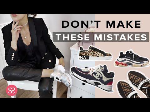 HOW TO WEAR LUXURY SNEAKERS & LOOK ELEGANT | Balenciaga, McQueen, Chanel & Sophia Webster AD