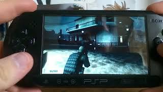 SOCOM Fireteam Bravo 3 PSP-stealth gameplay