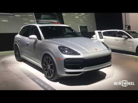 2019 Porsche Cayenne Walk-Around Chicago Auto Show 2018