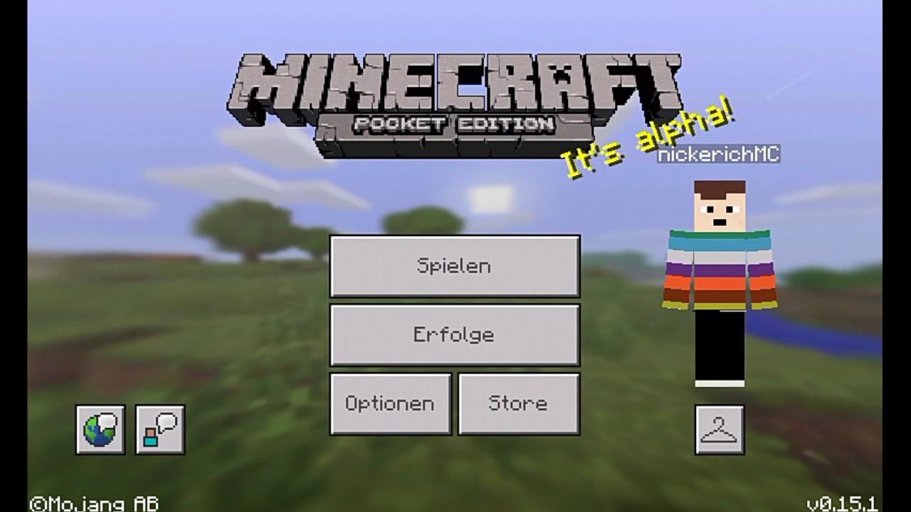 Wie Man Ohne Server In Minecraft PE Zusammen Spielt YouTube - Minecraft gemeinsam spielen