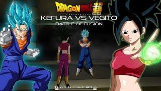 DBS: Kefura Vs Vegito (The Battle Of Fusion) - HalusaTwin
